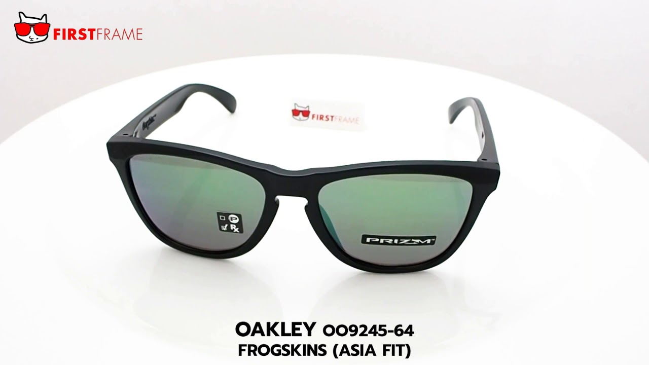 64a5a55cb2 OO9245 64 FROGSKINS (ASIA FIT) - YouTube
