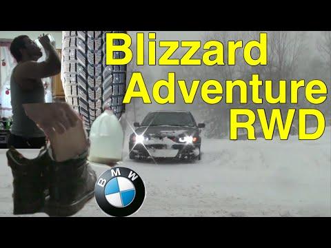 Winter Tires RWD Blizzard 2016 BMW E46 325i