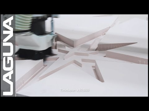 Custom CNC Foam Design - Laguna Tools Quick Cuts