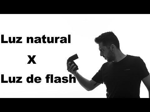 LUZ NATURAL x LUZ DE FLASH