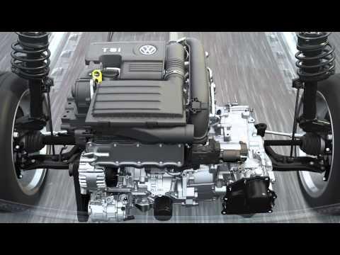 Volkswagen TSI turbocharged petrol engine
