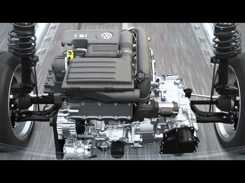 Volkswagen TSI turbocharged petrol engine