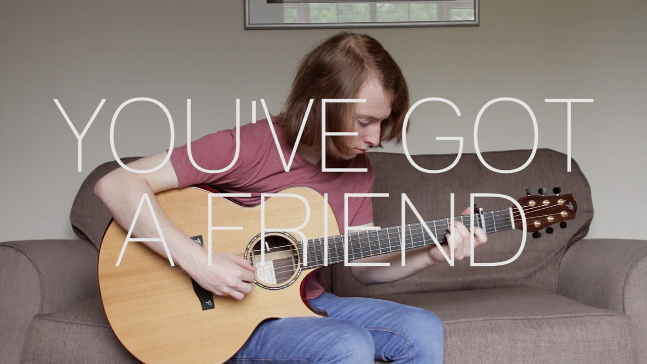 James Taylor Youve Got A Friend Fingerstyle Guitar Cover Free
