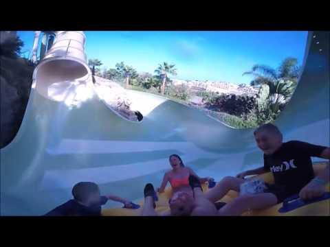 Siam Park Tenerife   All Slides POV Worlds Best Extreme Waterpark 2017