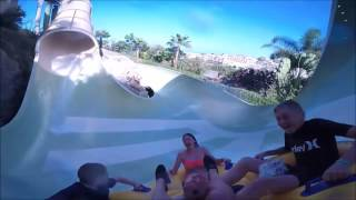 Siam Park Tenerife   All Slides POV Worlds Best Extreme Waterpark 2017