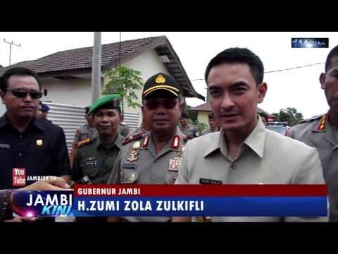 Zumi Zola Resmikan Lapangan Tembak Brimob Polda Jambi