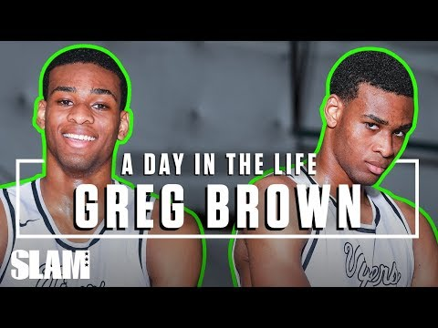 Greg Brown Is POWERFUL 💪🏽 SLAM Day in the Life