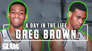 Greg Brown is POWERFUL -- He 'Aint Bambi NO MORE 💪🏽 | SLAM Day in the life Video