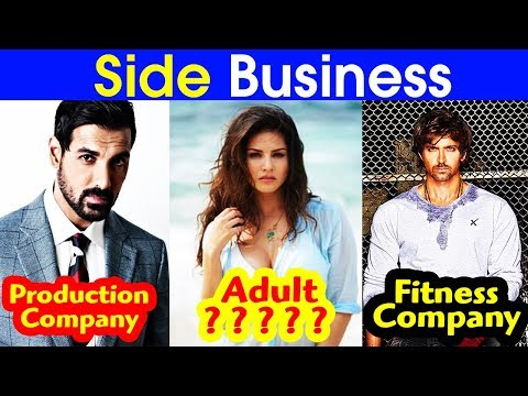 18 Bollywood Stars Who Have Successful  Side Businesses!