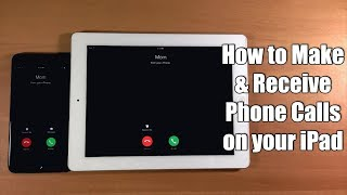 Make phone calls using your iPad or iPod