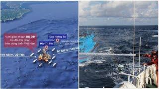 Tình hình mới tại Bãi Tư Chính: Tàu đánh cá TQ bắt đầu phối hợp phá rối và mối nguy từ đảo nhân tạo