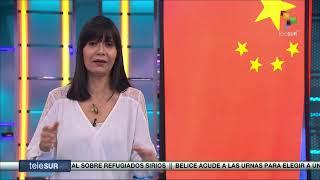 Emisión en directo de teleSUR tv
