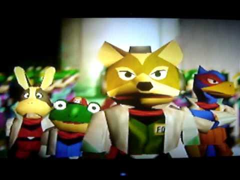 Star Fox 64 Fox Mccloud General Pepper Youtube