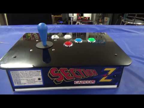 DIY Arcade Fight stick for PC PS3 Raspberry Pi