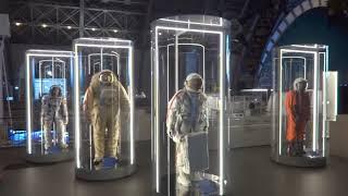 Музей космонавтики на ВДНХ.  Москва. Space Museum at VDNH. Moscow.