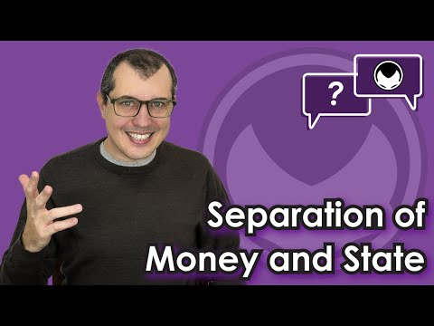 Bitcoin Q&A: The separation of money and state