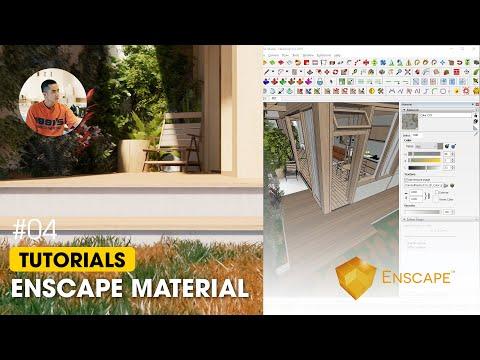 HỌC ENSCAPE SKETCHUP | Hướng dẫn tạo vật liệu Enscape #05 - Quách Minh Tiến (Enscape Materials)