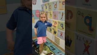 Letterland fun in Preschool