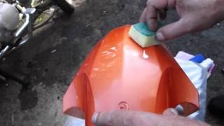 Полироль для устранения повреждений лакокрасочного покрытия