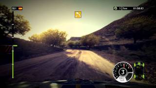 WRC 2011 - first run on PC and  WinXP - Spain time attack