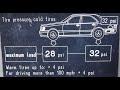 Presión de Neumáticos del Auto. Inflar neumáticos adecuadamente (Cuántos PSI?)
