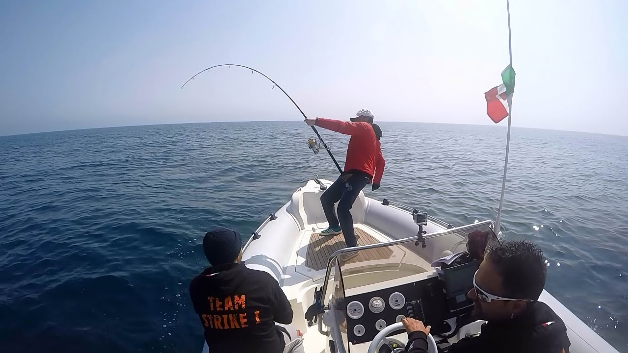 Team Strike1 - 3rd Bluefin Tuna Spinning Cup 2015 - Fano - Topwater Tuna  Popping