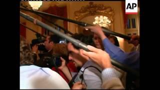 WRAP Israeli PM meets Obama and senators at WH, leaves