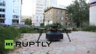 Российская компания начала доставлять пиццу дронами(, 2014-06-25T10:38:35.000Z)