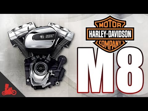 Harley-Davidson Milwaukee Eight Engine