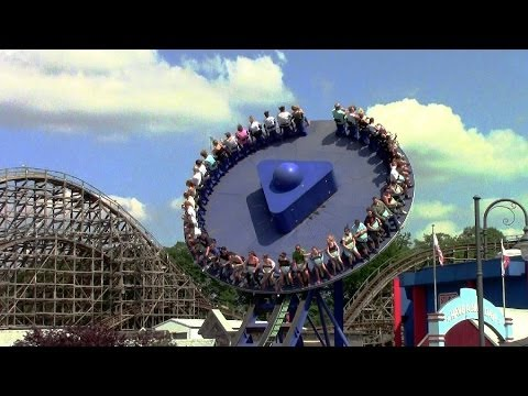 Crazy Surfer off-ride HD Movie Park Germany