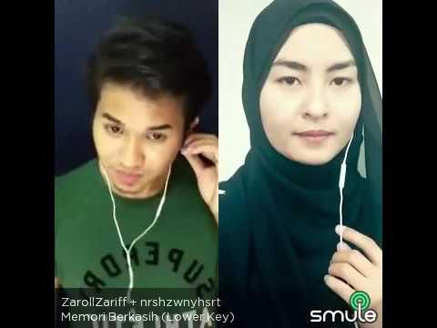 Memori berkasih by Achik & Nana - Zaroll Zariff & Wany (Smule Malaysia)