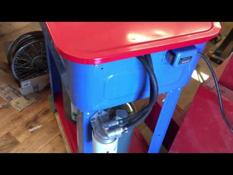 Harbor Freight Parts Washer Upgrades and Lessons Learned
