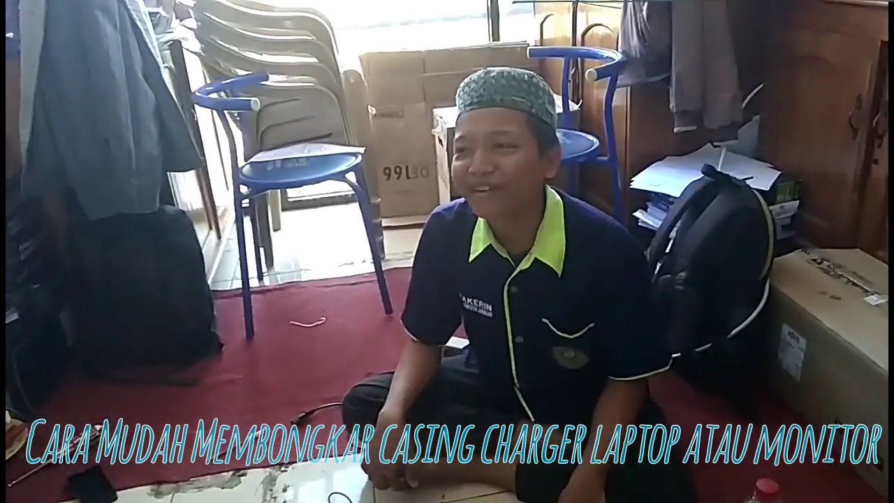 Cara Membuka Cashing Adaptor Monitor Atau Charger Laptop Youtube