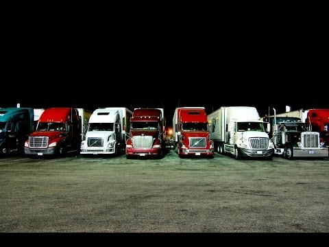 Night Time Trucking is the BEST!
