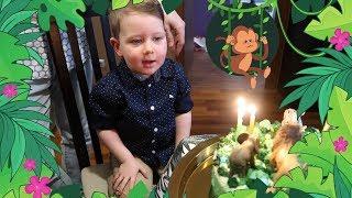 Impreza URODZINOWA! 3 latka w dżungli!