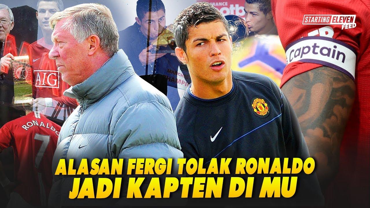 Mengapa Cristiano Ronaldo Tak Pernah Dijadikan Kapten Manchester United?