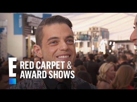Rami Malek Has Fun With Fashion at 2017 SAG Awards | E! Red Carpet & Award Shows