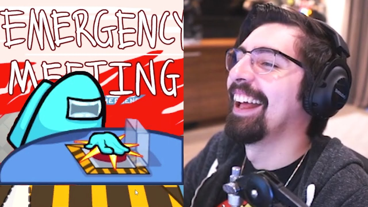 Among Us Shroud Masters The Emergency Meeting Strategy Essentiallysports