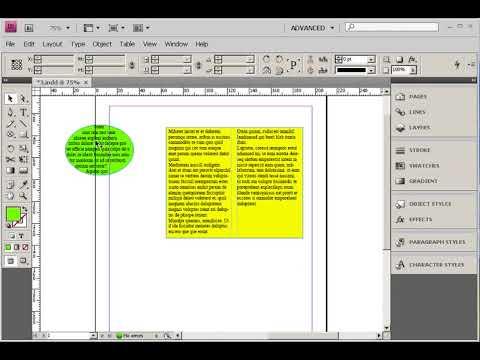 Вопрос: Как добавить колонки в программе InDesign?
