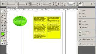 Фреймы Графические и текстовые блоки Adobe InDesign Курс Обучение Урок 3