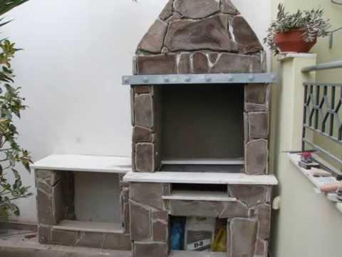 ΚΑΤΑΣΚΕΥH ΨΗΣΤΑΡΙΑΣ (BARBEQUE) -  BBQ CONSTRUCTION