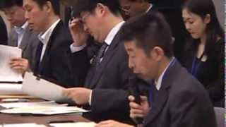 秘密保護法を考える議員と市民による第3回省庁交渉(2013年10月31日)
