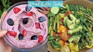 WHAT I ATE TODAY | Healthy & Delicious Meal Ideas