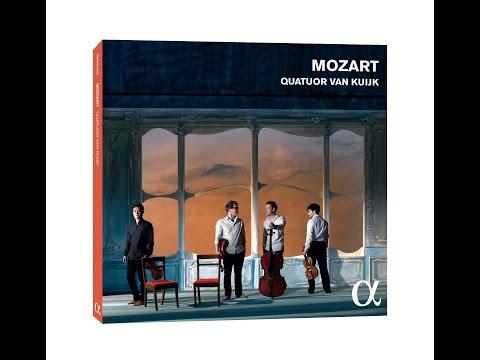 Quatuor Van Kuijk teaser Mozart CD
