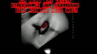 OOMPH Das letzte Streichholz (lyrics)