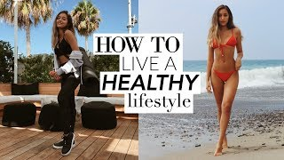 How To Live a HEALTHY LIFESTYLE! My Health Routine! thumbnail