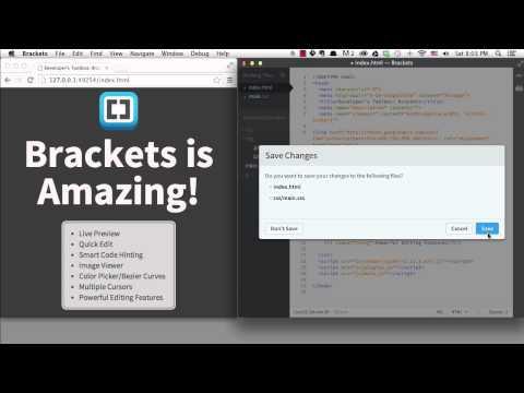 Developer's Toolbox: Brackets