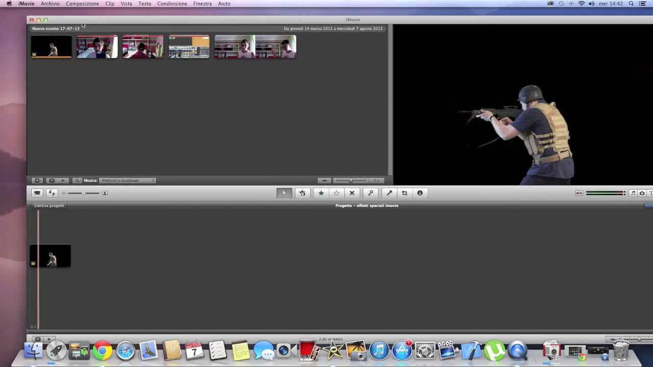 effetti video imovie