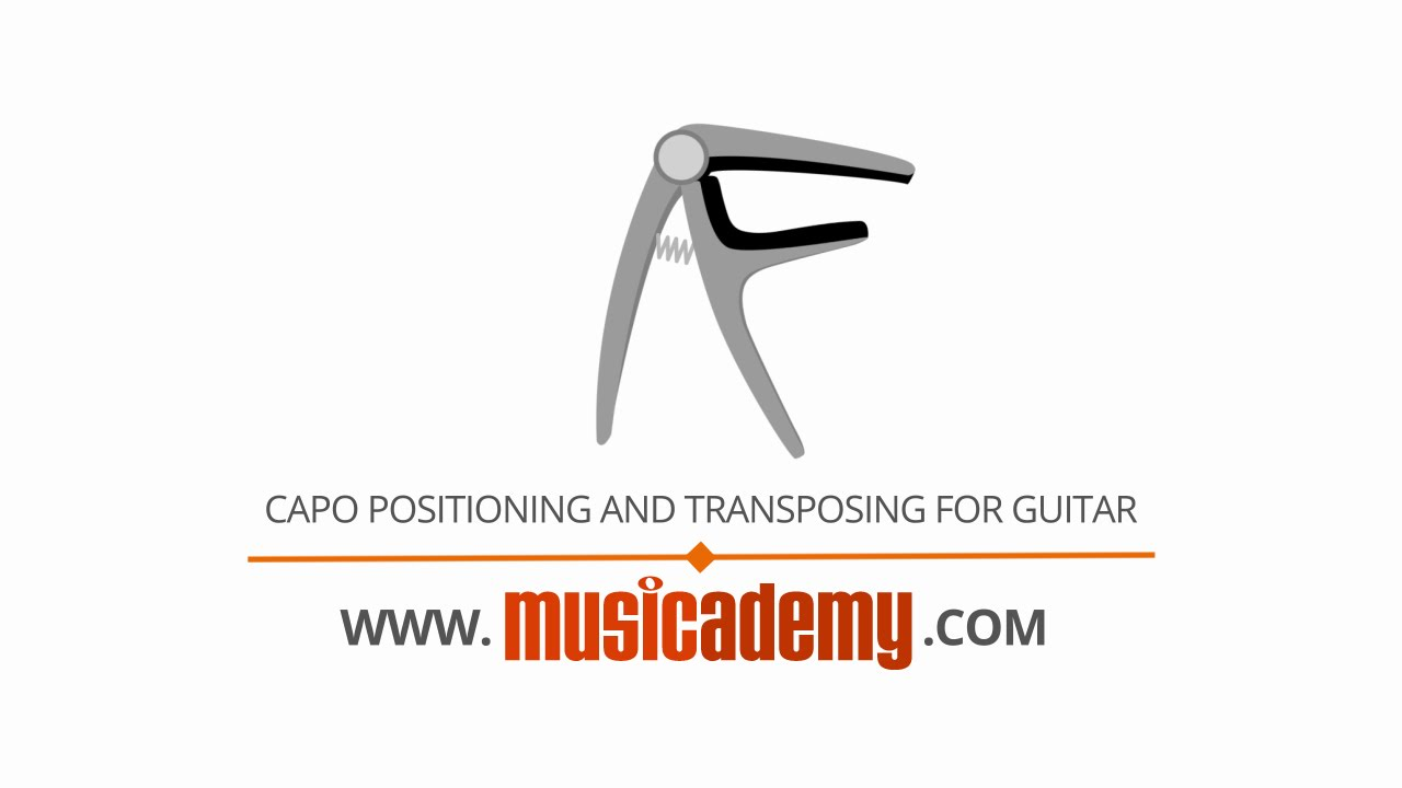 Capo Positioning Transposing For Worship Guitar Youtube
