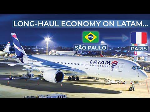 TRIPREPORT | LATAM (ECONOMY) | Airbus A350-900XWB | São Paulo Guarulhos - Paris CDG